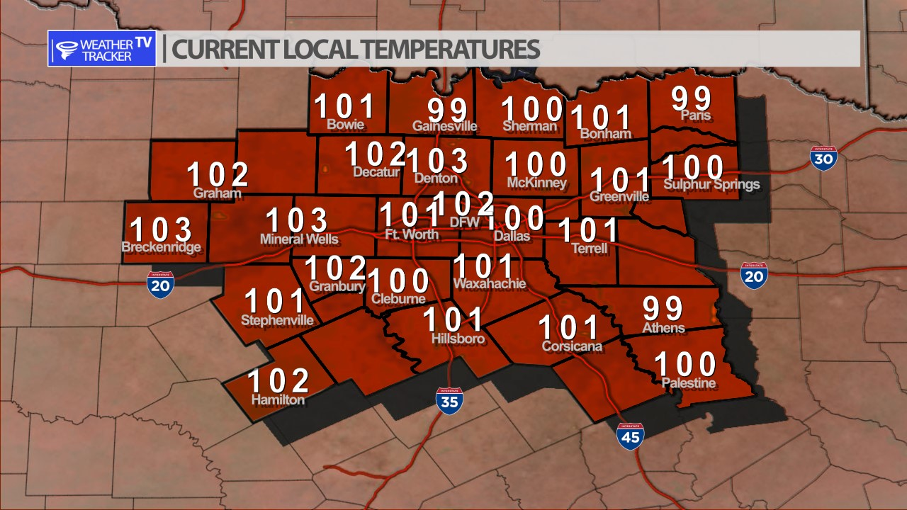 Texas Weather Tracker TV Alert